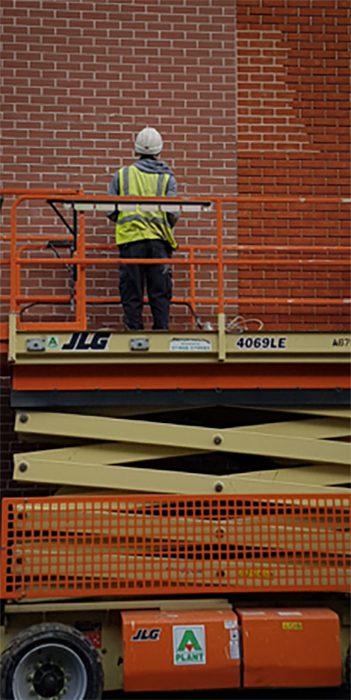 Brick Cladding Construction