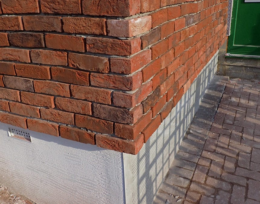 How does brick slip reduce build cost?