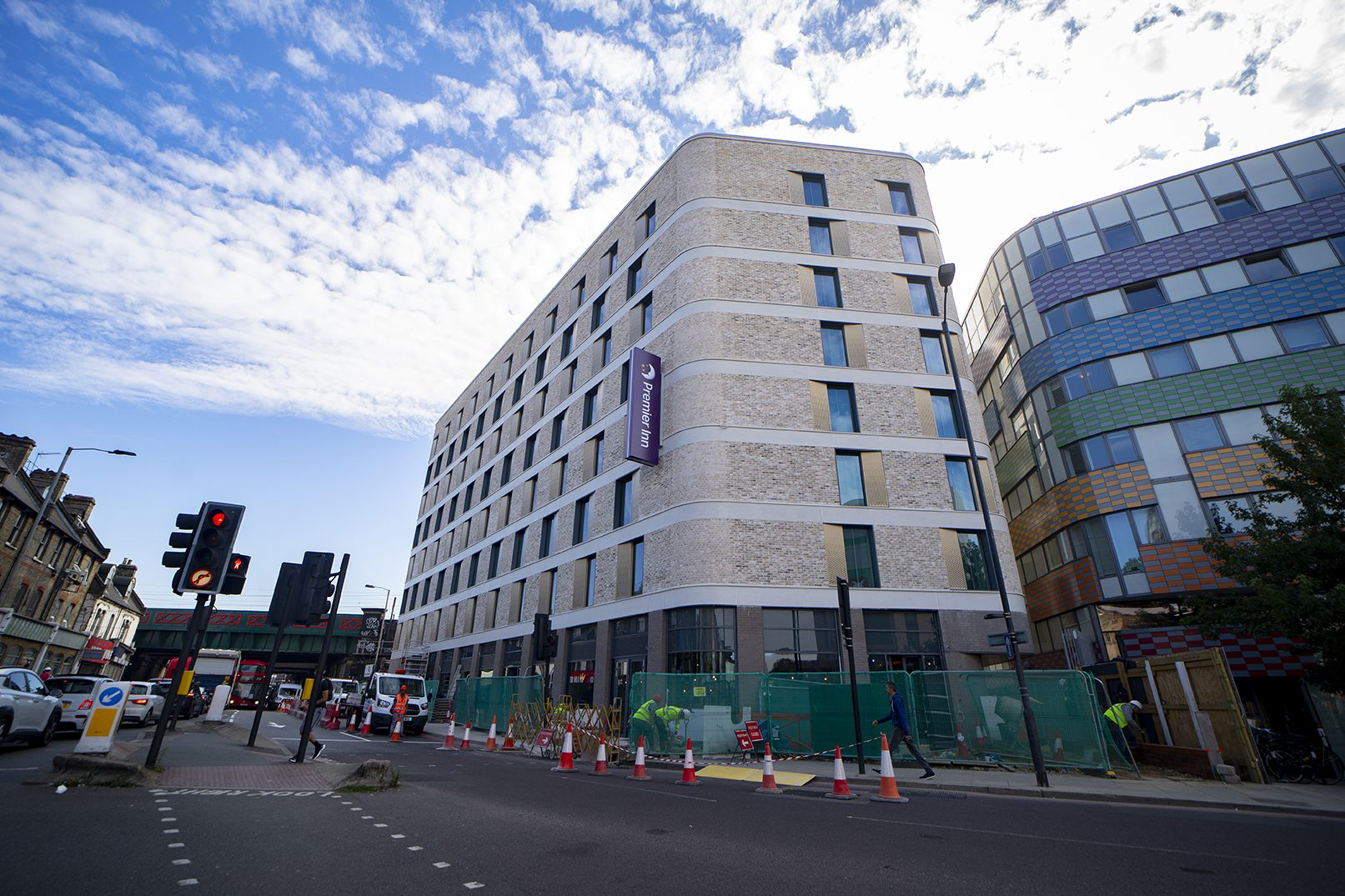 240 Seven Sisters Road Project In RGB Facades